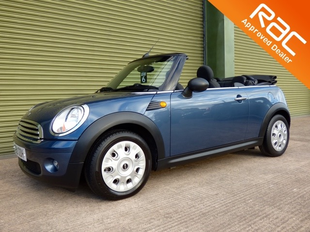 View MINI CONVERTIBLE ONE - FROM £76 A MONTH -  2010